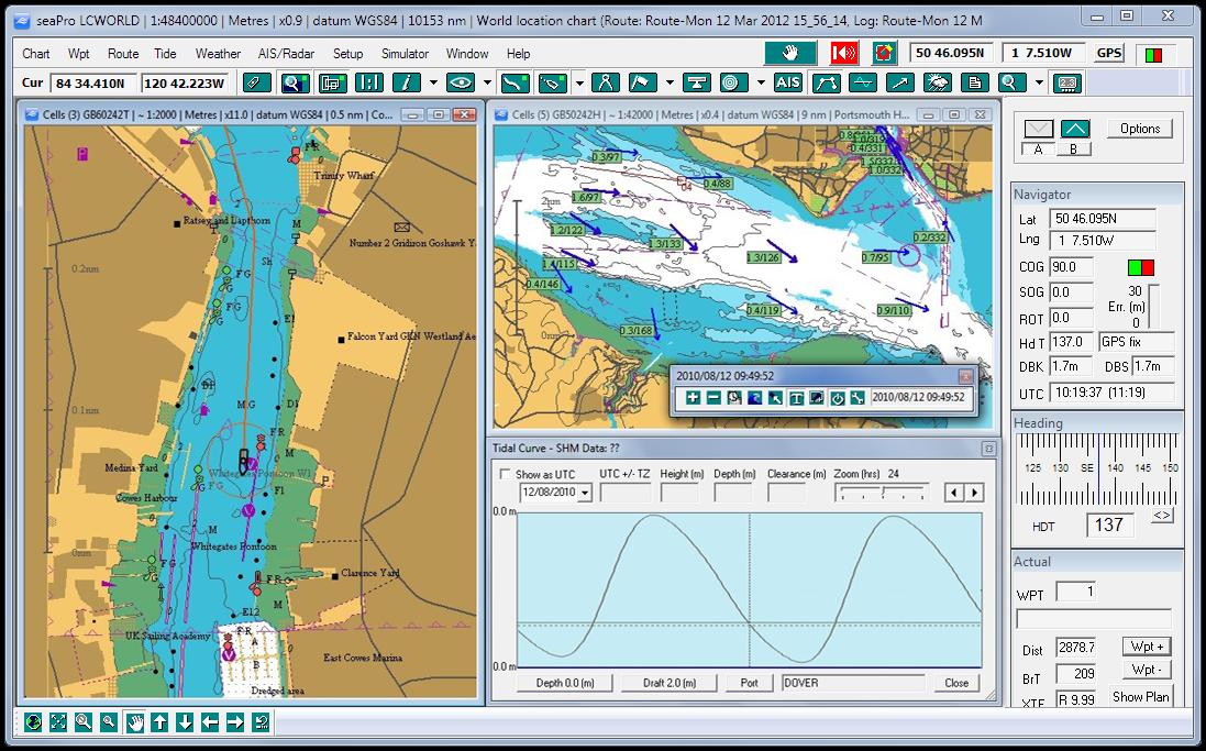 Seapro Charting And Navigation Software